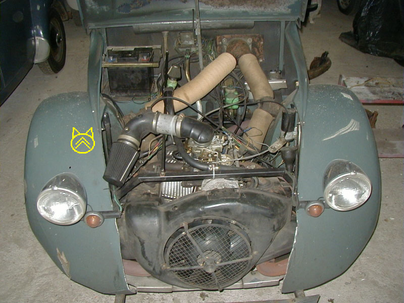 citroen 2cv gs engine
